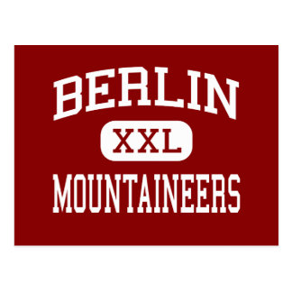 Berlin - Mountaineers - High - Berlin Postcard