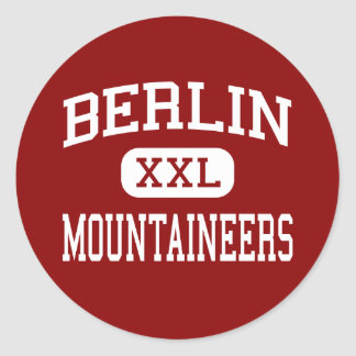 Berlin - Mountaineers - High - Berlin Round Sticker