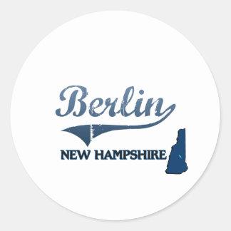 Berlin New Hampshire City Classic Sticker