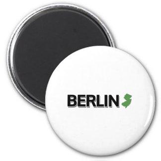 Berlin, New Jersey 2 Inch Round Magnet