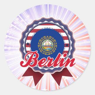 Berlin, NH Stickers