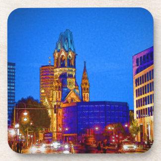 Berlin nightlife - Kaiser Wilhelm Memorial Church Coaster