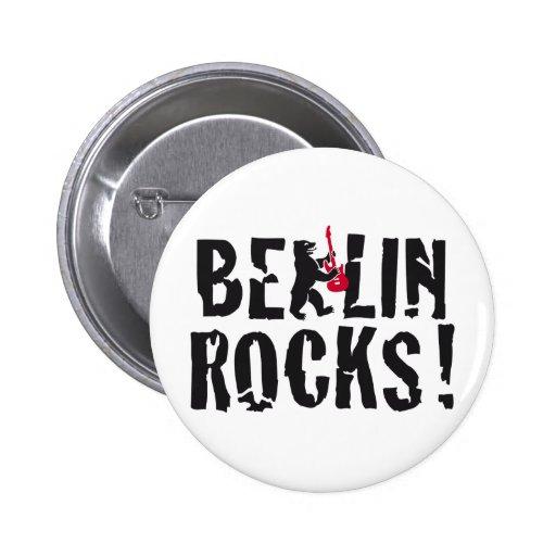 Berlin of skirt pinback button