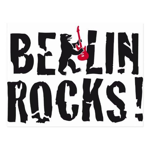 Berlin of skirt postcard