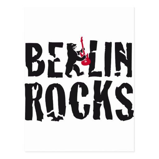 Berlin of skirt post card