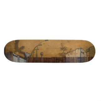 Berlin on wood 4 skate board decks