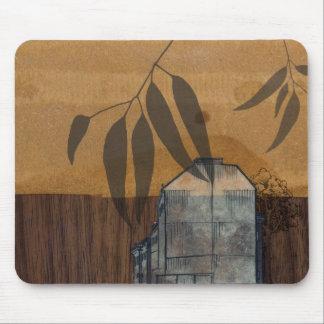 berlin on wood mousepad