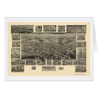 Berlin, PA Panoramic Map - 1905 Card
