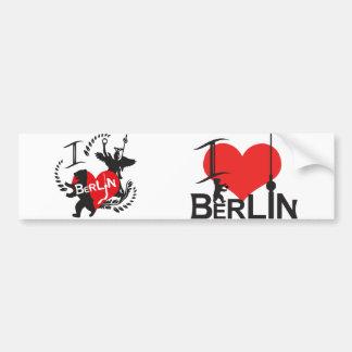 Berlín pegatina pegatina para auto