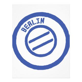 Berlin Personalized Letterhead
