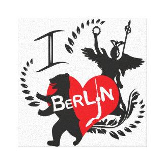 Berlin picture canvas print