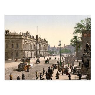 Berlin Platz Am Zeughaus, Pferdebahn Postcard
