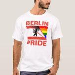 Berlin Pride Gay Pride Rainbow Flag T-Shirt