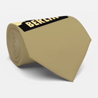 BERLIN Quadriga 002.0.3 Brandenburg gate Neck Tie