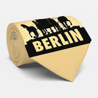 BERLIN Quadriga 002.2.7 Brandenburg Gate Neck Tie