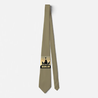 BERLIN Quadriga 002.2.8 Brandenburg Gate Neck Tie