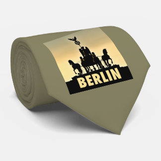 BERLIN Quadriga 002.3.1 Brandenburg Gate Neck Tie