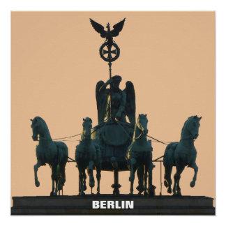 BERLIN Quadriga at Brandenburg Gate 1.2 Poster