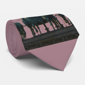 BERLIN Quadriga at Brandenburg Gate 2.7 Neck Tie