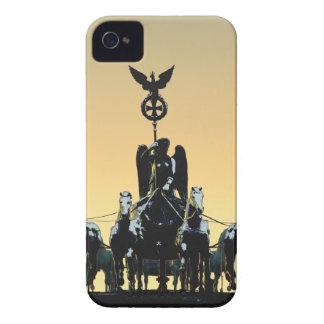 Berlin Quadriga Brandenburg Gate 002.1 rd iPhone 4 Case