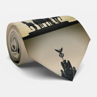 Berlin Quadriga Brandenburg Gate 02.2.8.8 Neck Tie