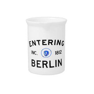 Berlín que entra jarron