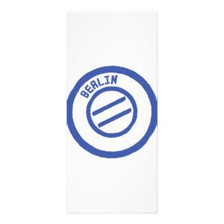 Berlin Customized Rack Card