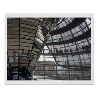 berlin reichstag dome poster