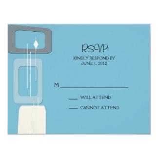 Berlin Response Card:  Pool 4.25x5.5 Paper Invitation Card
