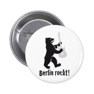 Berlin rocks pinback buttons