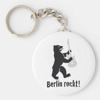 berlin rockt llavero redondo tipo pin