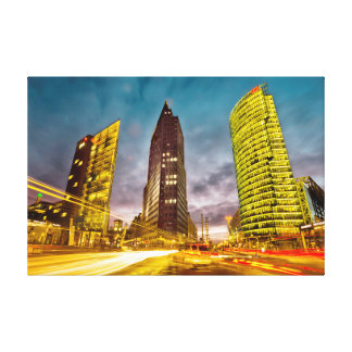 Berlin Rush Hour Gallery Wrap Canvas