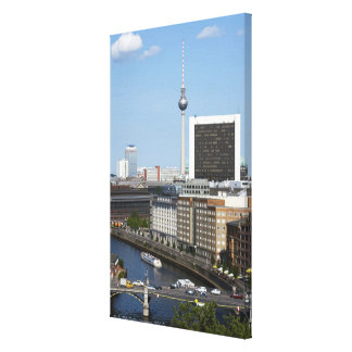 Berlin skyline, Germany Canvas Print