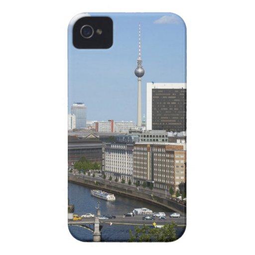 Berlin skyline, Germany Case-Mate iPhone 4 Case