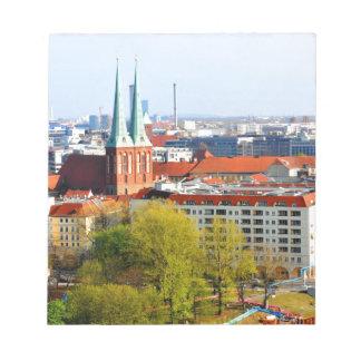 Berlin skyline (Germany) Notepad