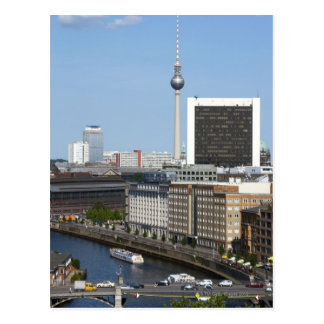 Berlin skyline, Germany Postcard