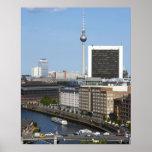 Berlin skyline, Germany Poster