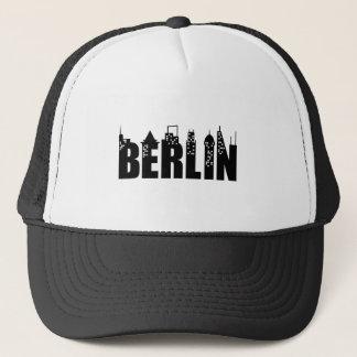 Berlin Skyline Skyscrapers City Trucker Hat