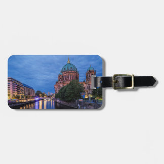 Berlin Spree and Cathedral Bag Tag