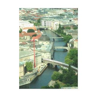 Berlin Spree River Photo on Canvas