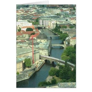 Berlin Spree River View Greeting Card