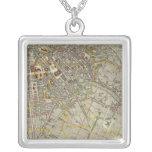 Berlin Square Pendant Necklace