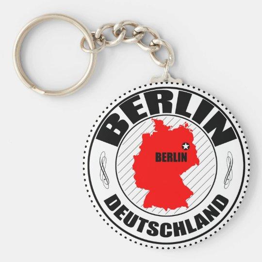 Berlin Stamp A002 Keychain