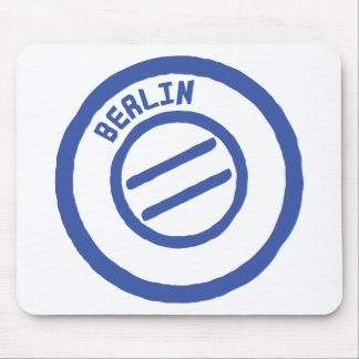 berlin stamp mouse pad