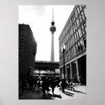 Berlín street photography póster