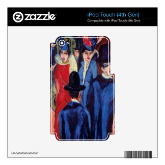 Berlin Street Scene iPod Touch 4G Skin