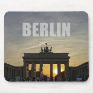 BERLIN, Sunset at the Brandenburg Gate Mouse Pad