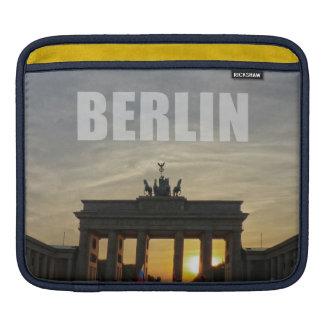 BERLIN, Sunset RK the Brandenburg gate Sleeve For iPads