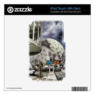 Berlin Teufelsberg iPod Touch 4G Skin
