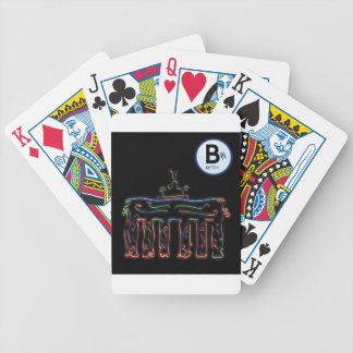 Berlin - total Oriental - Brandenburger gate Poker Deck